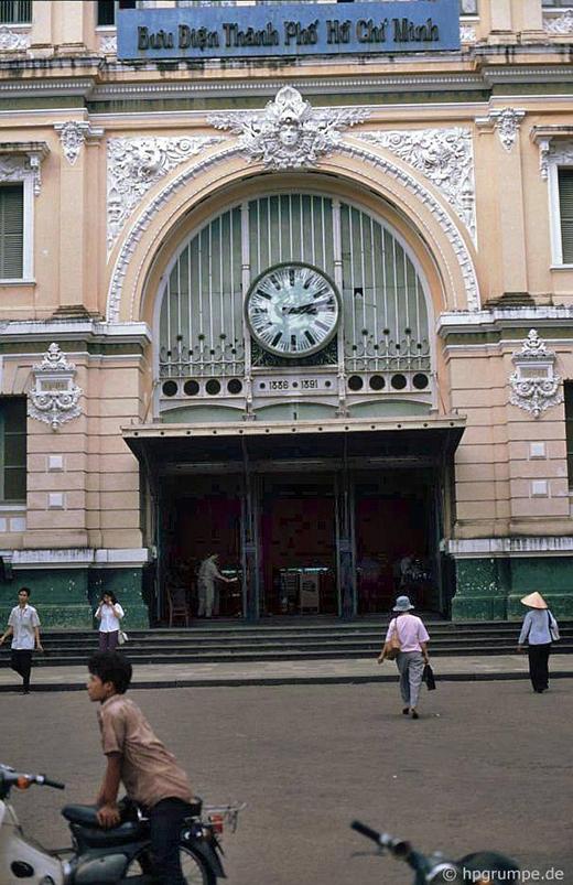 Bưu điện thành phố ngày xưa