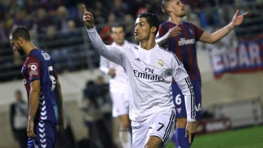 Ronaldo tiếp tục thể hiện phong độ ghi bàn ấn tượng ở La Liga