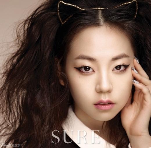 Trang điểm mắt ấn tượng như cô nàng Sohee ( Wonder Girls)