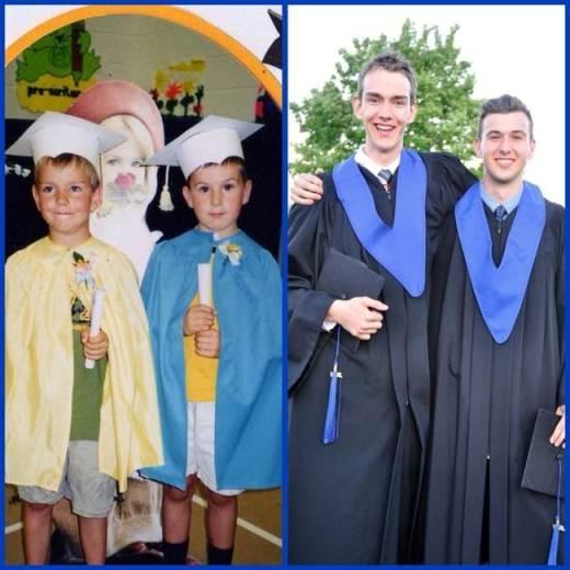 Ước mơ từ thuở bé của hai anh em cuối cùng cũng trở thành hiện thực