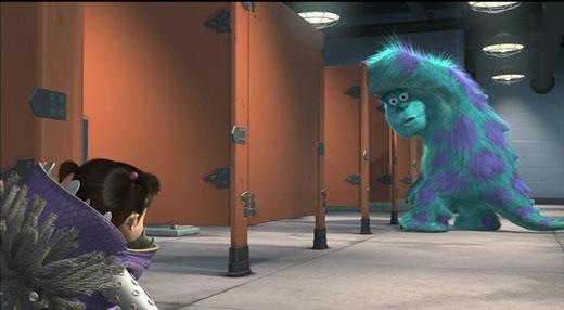 Có người cho rằng bài hát mà Boo hát trong cảnh phòng tắm trong phim Monsters Inc (Tổng công ty quái vật)là bài hát nổi tiếngTale as Old as Time từ phim Giai nhân và quái vật.