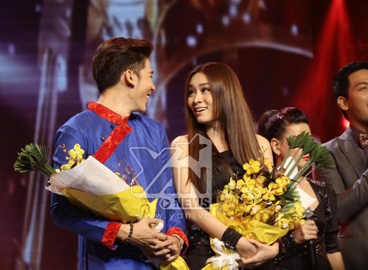 Cặp đôi nhận được bình chọn nhiều nhất sau đêm 'hóa trang' tuần trước là Minh Trung - Minh Thư - Tin sao Viet - Tin tuc sao Viet - Scandal sao Viet - Tin tuc cua Sao - Tin cua Sao