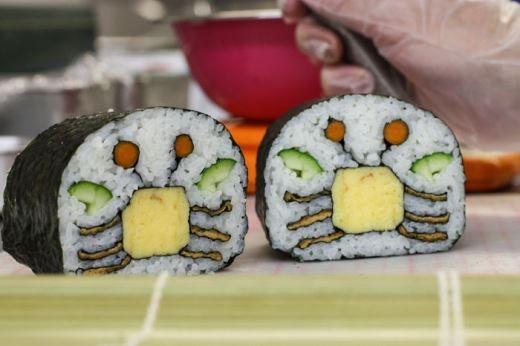 Sushi cua nè