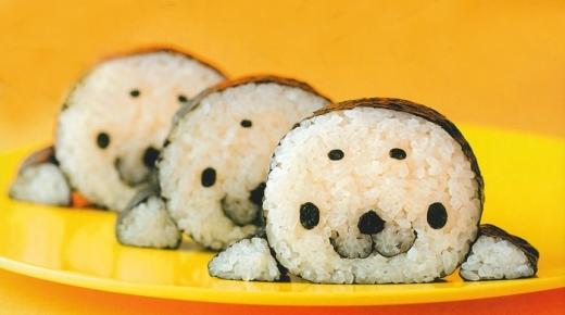 Sushi hải cẩu đáng yêu được nhiều người yêu thích