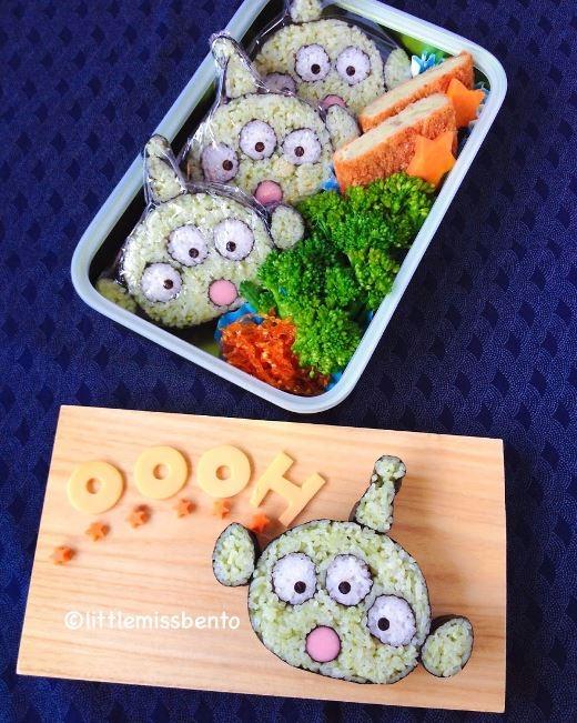 Sushi người ngoài hành tinh rất sáng tạo