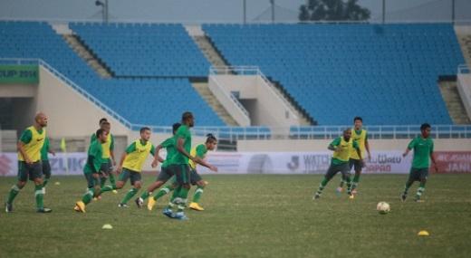 Violla đã có mặt ở Mỹ Đình 2 ngày gần đây để xem ĐTVN và Indonesia tập luyện