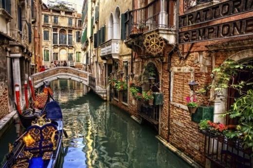 'Thành phố nước' Venice.
