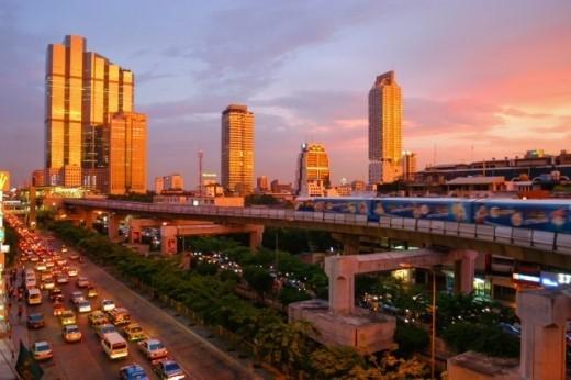 Đường phố Bangkok sẽ biến thành kênh rạch chỉ trong 100 năm tới.