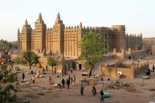 Timbuktu là thành phố cổ ở vùng Tombouctou, Mali
