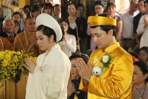 Đám cưới của Trần Thị Quỳnh Ngọc hồi tháng 10 vừa qua khiến dư luận xôn xao.