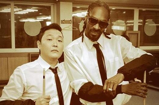 PSY và rapper nổi tiếng Snopp Dogg