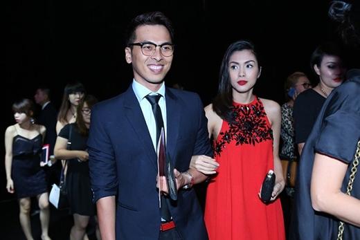 Tăng Thanh Hà được người bạn thân - stylist Quang Tuyến tháp tùng đến show của NTK Đỗ Mạnh Cường - Tin sao Viet - Tin tuc sao Viet - Scandal sao Viet - Tin tuc cua Sao - Tin cua Sao