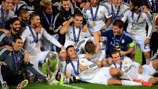Ngày 13/8/2014, Ronaldo cùng Real đoạt siêu cúp châu Âu sau khi đánh bại Sevilla với tỷ số 2-0.