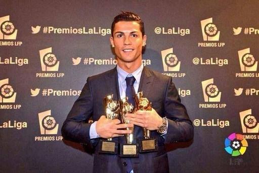 Ngôi sao người Bồ Đào Nha nhận giải thưởng Cầu thủ xuất sắc nhất, tiền đạo xuất sắc nhất, bàn thắng đẹp nhất La Liga mùa giải 2013/14.