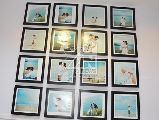 Những bức ảnh cưới được trang trí khá đơn giản nhưng ấn tượng - Tin sao Viet - Tin tuc sao Viet - Scandal sao Viet - Tin tuc cua Sao - Tin cua Sao