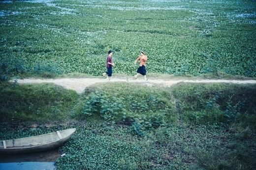 Họ yêu nhau hồn nhiên như cỏ cây, rơm rạ quê nhà.
