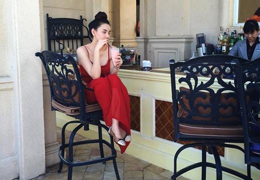 Theo chia sẻ của Trang Nhung, thời gian này cô cũng tăng cân khá nhiều - Tin sao Viet - Tin tuc sao Viet - Scandal sao Viet - Tin tuc cua Sao - Tin cua Sao