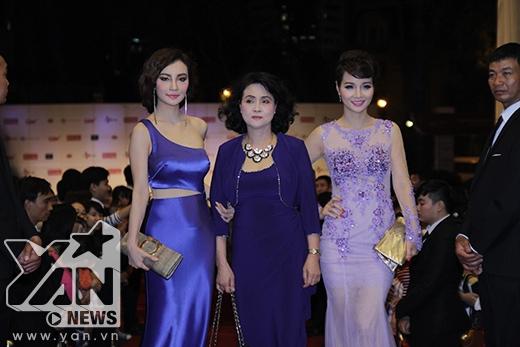 Nữ diên viên Mai Thu Huyền khoe sắc bên mẹ và chị gái - Tin sao Viet - Tin tuc sao Viet - Scandal sao Viet - Tin tuc cua Sao - Tin cua Sao