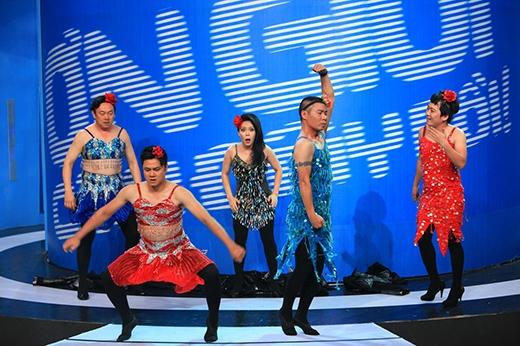 Tự Long và Công Lý cùng 'đọ' vũ đạo trên sân khấu - Tin sao Viet - Tin tuc sao Viet - Scandal sao Viet - Tin tuc cua Sao - Tin cua Sao