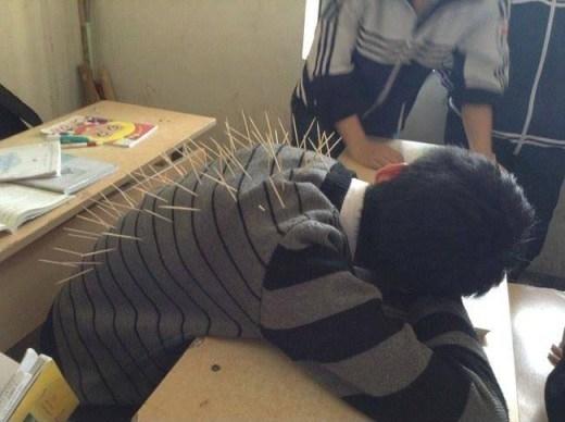 Hậu quả của việc ngủ trong lớp