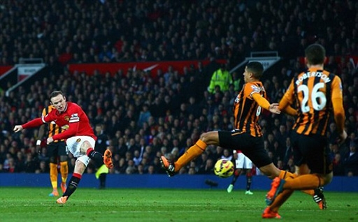 Man United đã có một trận thắngthuyết phục trước Hull City