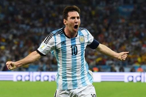 5. Lionel Messi (ĐT Argentina).