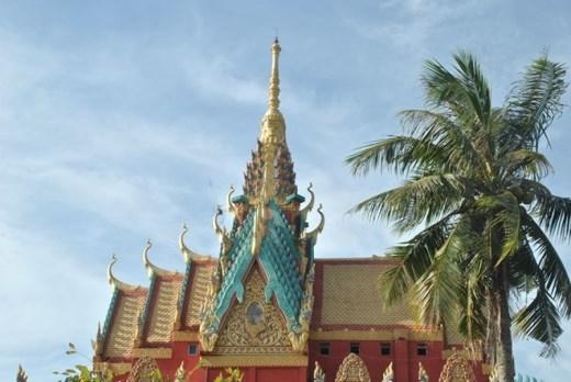 Đây là ngôi chùa Khmer có kiến trúc độc đáo bật nhất Đồng bằng sông Cửu Long.