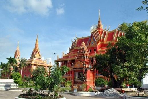 Ngôi chùa là nơi vãn cảnh không thể bỏ qua của du khách khi đến Bạc Liêu.