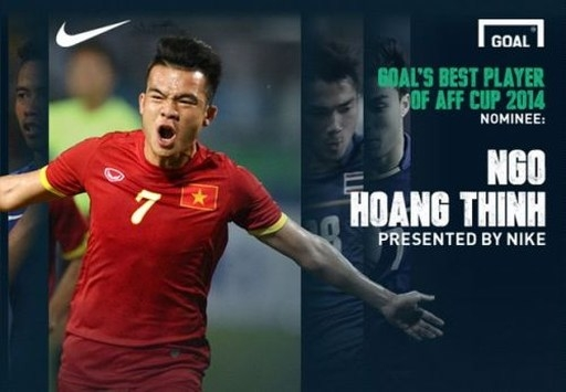 Qua hai trận đấu ở vòng bảng, Ngô Hoàng Thịnh nhận được đánh giá cao từ các giới truyền thông và người hâm mộ. Ảnh: Goal.