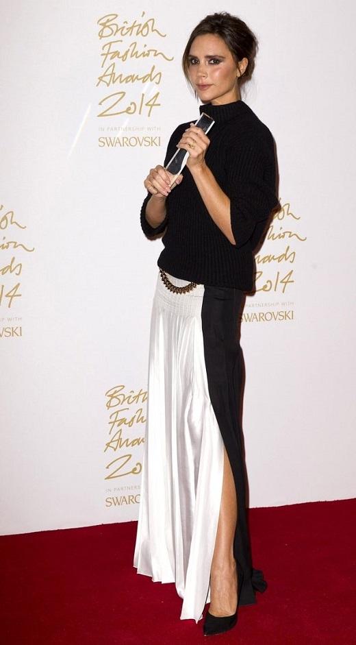 Victoria Beckham nhận giải 'Nhãn hiệu của năm'
