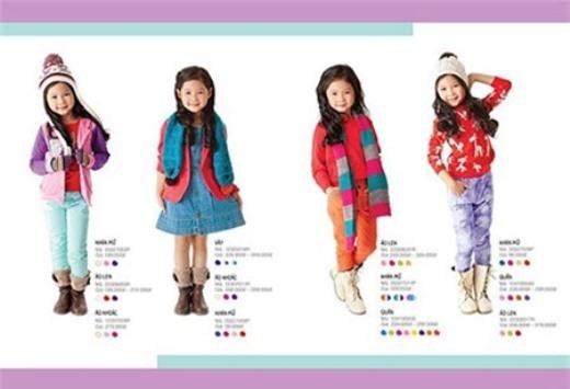 Hình ảnh của Thiên Trang khi làm mẫu cho một thương hiệu thời trang Việt Nam rất nổi tiếng.