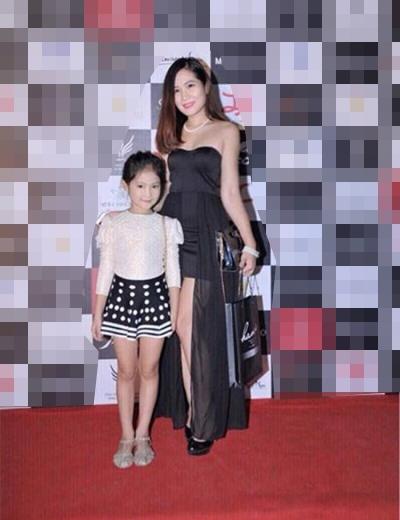 Chị Phương Linh và con gái