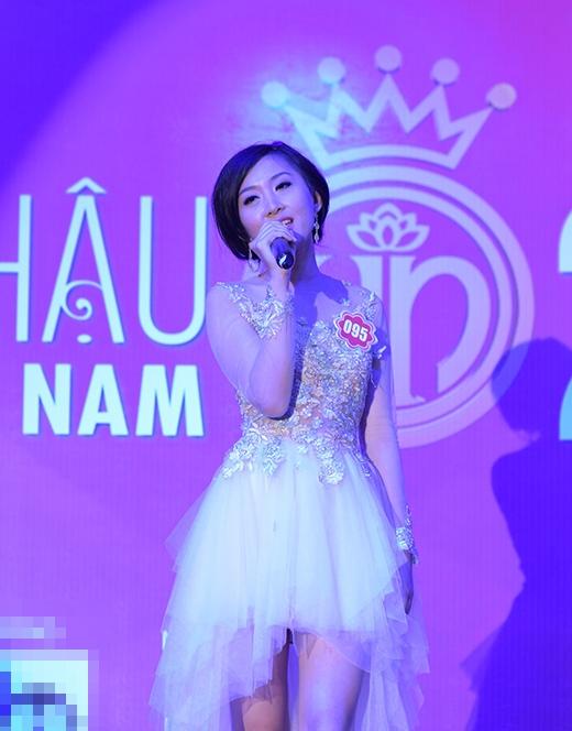 Nguyễn Thị Phương Anh, SBD 095 thể hiện ca khúc 'Back to December'