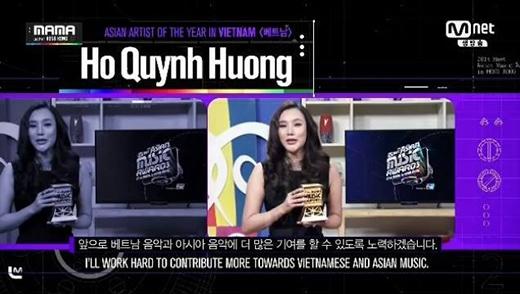 Hồ Quỳnh Hương vinh dự được vinh danh tại MAMA 2014. - Tin sao Viet - Tin tuc sao Viet - Scandal sao Viet - Tin tuc cua Sao - Tin cua Sao