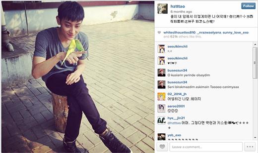 Hình ảnh được nhiều người thích nhất trên Instagram của Tao
