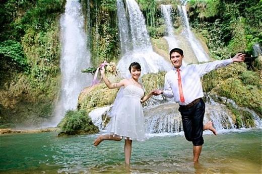 Mộc Châu – thiên đường ảnh cưới cho các cặp đôi