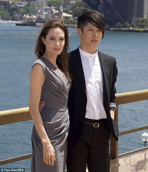 Jolievà nam diễn viên Nhật bản Miyavi