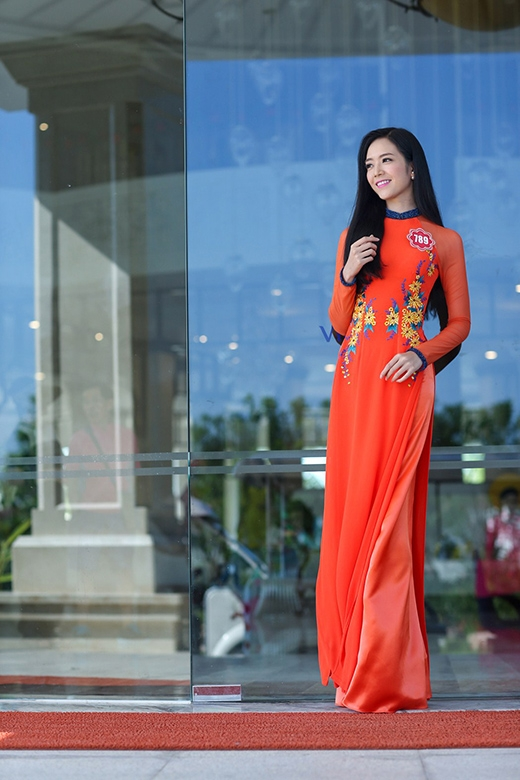 Phạm Thị Ngọc Quý SBD 789 là một người đẹp nổi trội trong số các thí sinh đến từ TP Hồ Chí Minh. Cô là một trong sô những thí sinh có chỉ số hình thể nổi bật nhất năm nay với chiều cao 1m75, cân nặng 52 kg, và số đo 80-66-93.