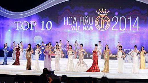 Top 10 Hoa hậu Việt Nam 2014