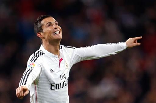 Ronaldo ăn mừng bàn thắng vào lưới Celta Vigo - Ảnh: Reuters