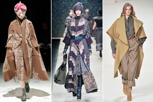 Những chiếc áo choàng blanket chưa bao giờ lỗi mốt cho những ngày đông lạnh giá cả.