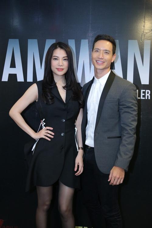 Trương Ngọc Ánh sánh đôi Kim Lý trong dự án mới 'I am wanted'.