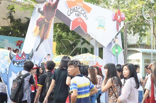 Comic Con Nhí được tài trợ bởi nhãn hàng Love in frame KUN. Các hoạt động và các biểu diễn thu hút được 3500 bạn nhỏ trong suốt cả ngày diễn ra sự kiện.