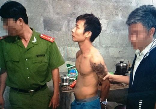 Nghi phạm Đặng Sỹ Lệ bị bắt ngày 24/11 tại Huế. Ảnh: Công an cung cấp
