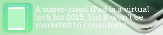 Một chiếc iPad cỡ lớn nhưng không hướng đến người tiêu dùng thông thường. Ảnh: Bob Al-Greene.