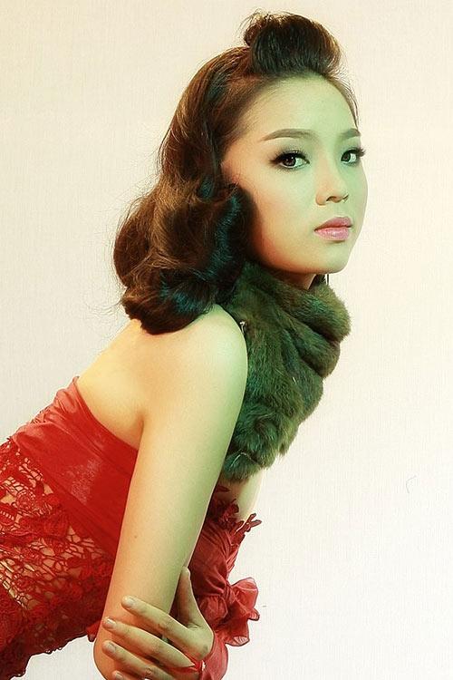 Hình ảnh đầy lạ lẫm của tân Hoa hậu Việt Nam 2014 - Tin sao Viet - Tin tuc sao Viet - Scandal sao Viet - Tin tuc cua Sao - Tin cua Sao