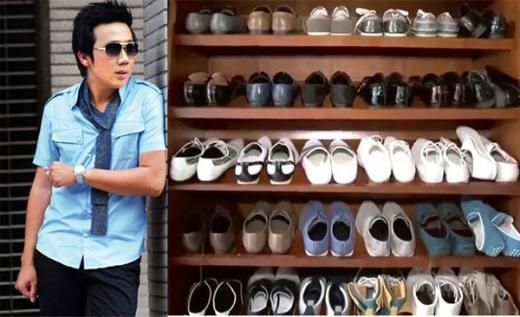 MC Trấn Thành sắm nhiều giày để 'tô điểm' cho diện mạo. - Tin sao Viet - Tin tuc sao Viet - Scandal sao Viet - Tin tuc cua Sao - Tin cua Sao