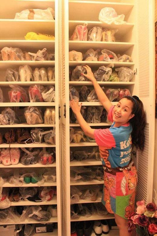 Ốc Thanh Vân cũng là một trong những 'tay chơi' về giày. - Tin sao Viet - Tin tuc sao Viet - Scandal sao Viet - Tin tuc cua Sao - Tin cua Sao