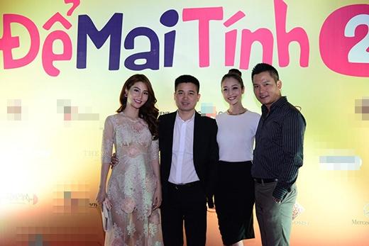 Hai vợ chồng Jennifer Phạm cũng đi xem 'Để mai tính' - Tin sao Viet - Tin tuc sao Viet - Scandal sao Viet - Tin tuc cua Sao - Tin cua Sao