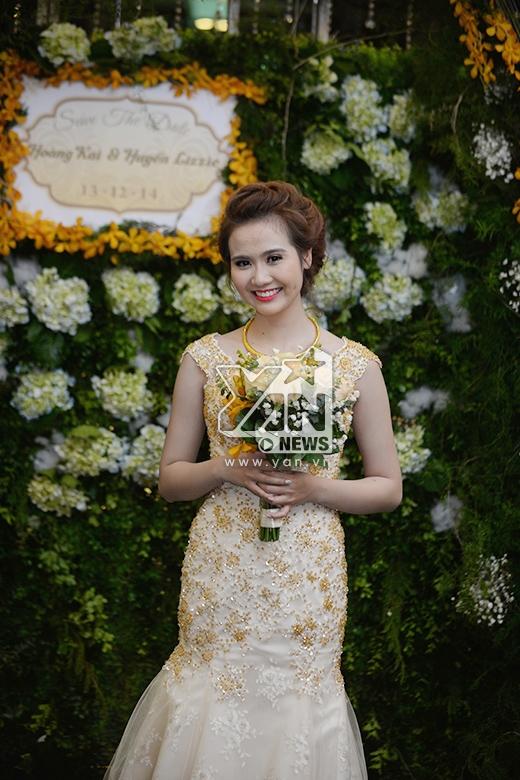 Cô dâu Huyền Lizzie xinh đẹp - Tin sao Viet - Tin tuc sao Viet - Scandal sao Viet - Tin tuc cua Sao - Tin cua Sao